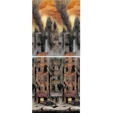 Halloween Scene Setter Rolls by Amazon Com Doomsday Scene Setters Room Roll Toys U0026 Games