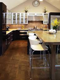 kitchen island with seating and stove white pendant ls modern