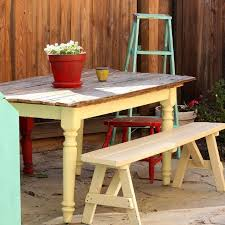 Make Outdoor End Table by Outdoor Patio And Garden Make From 100 Recycled Junk Hometalk