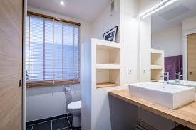 separation salle de bain separation dans un grande salle de bain avec wc chaios