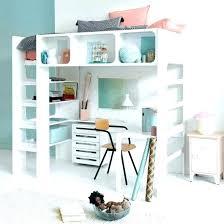 lit mezzanine bureau blanc lit enfant mezzanine bureau lit combinac avec bureau et rangement