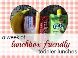 Daycare Lunch Ideas For Toddlers Babble