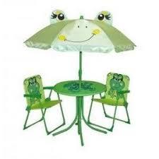 chaise de jardin enfant ref 90 ensemble de jardin enfant table 2 chaises parasol
