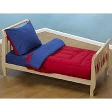 Amazon Red and Navy Solid Color Toddler Bedding Toddler