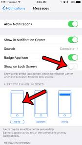 How to Stop Text Message Pop Ups on the iPhone 7 Solve Your Tech