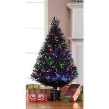 6ft Fibre Optic Christmas Tree Black by Small Fiber Optic Christmas Tree Christmas Ideas