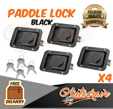 4x Paddle Latch Lock | Black | Powdercoated Trailer Caravan Truck ... Fun Sale Homemade Used Craftsman 2017 Colorado For Truck Bed Tool Latch Boxes Cargo Management The Home Depot Better Built Sec Series Low Profile Single Lid Crossover Box Northern Equipment Locking Widestyle Chest Uws Secure Lock Toolbox Overview Youtube Dz6170lockd Dee Zee Use With Bolt Brand Locks Shop At Lowescom Husky Tag Archives On Vivo Living Ipirations Diamond Plastic Best 3 Options Handle Compression Trailer Luggage Locker 22