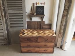 Handcrafted Reclaimed Barn Pallet Wood Dresser Rustic