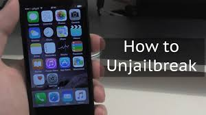 How to Unjailbreak an iPhone iPod or iPad Restore without