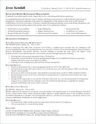 77 Awesome Hotel General Manager Resume Samples
