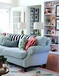 grey blue sofa adrop me