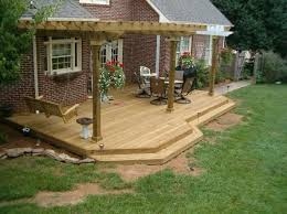 Patio And Deck Combo Ideas by Best 25 Ground Level Deck Ideas On Pinterest Ground Level Deck