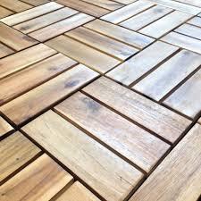 acacia deck tile w 300mm l 300mm t 12mm departments diy at