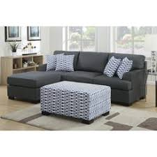 Cindy Crawford Metropolis 3pc Sectional Sofa by Cindy Crawford Home Metropolis Slate Left Pc Sectional