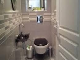 photo deco wc gris et blanc par deco
