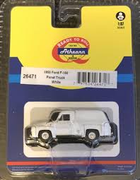 Athearn 26471 HO 1955 Ford F-100 Panel Truck White | EBay