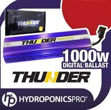 1000 Watt Hps Bulb And Ballast by Thunder Tm Horticulture Tbf1000 Hydroponic 1000 U2013 Watt Hps Mh
