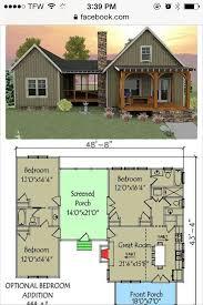 2 Bedroom Cabin Plans Colors Love U2026 Pinteres U2026