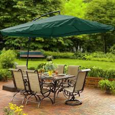 Offset Patio Umbrella With Mosquito Net by Amazon Com Yescom 9 U0027 Green Square Outdoor Patio Hanging Offset
