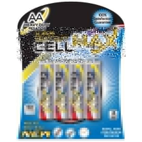 Cellmax Super Heavy Duty AA Batteries - 4pcs
