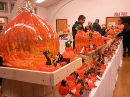 Glass Blown Pumpkins Seattle by The Great Northwest Pumpkin Patch Bellevue Events Happenings