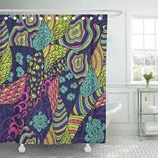 emvency wasserdicht duschvorhang polyester verstellbar goa