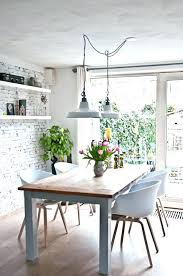 Kitchen Table Light Fixtures Lighting Above Dining Room Ideas Lights Over
