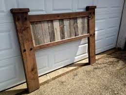 Barn Wood Headboard By Boones Woodshed