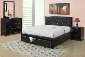 Item F9313F Full Size Platform Bed Frame W Underbed Drawer