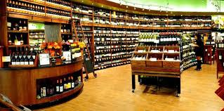 Wine Displays For Use In Grocery Stores Liquor Package Or Shops