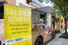 100 Food Trucks In Dc Today New App Brings Affordable Global Lunches And Dinners To GW