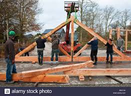 Building A Traditional Timber Framed Barn In Radnorshire, UK ... Danbury Elks Lodge Crane Day The Barn Yard Great Country Garages Roof Awesome Roof Diagram Pole Gambrel Truss With A Medeek Design Inc Gallery Exterior Inspiring Home Ideas Decorating Cool Of Shed Framing For Capvating Rafters And Also Metal On Timber Stock Photos Images Architecture Beautiful Window Shutters Signs Modern House Colors Stunning Signs Check Out Edgeworth Barn Oak Carpentry In France Pitch Formula Plans