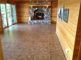 Underlayment For Vinyl Plank Flooring In Bathroom by Staggered Tile Pattern Our Basement Part Installing Vinyl Slate