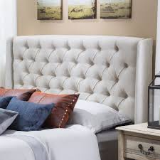Roma Tufted Wingback Bed by Dorel Asia Tufted Headboard Chrome King Wingback With Arms Bedroom