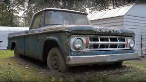 Rescue Of A Classic 1968 Dodge D100 Pickup Truck - The Most ... 2018 New Ram 2500 Dodge Truck Crew 149wb 4x4 St At Landers Serving 1948 Dodge Truck Was Used For Hard Work On Southern Rice Farm Gas Monkey Garage Icon Vehicle Dynamics Jolly Green Giant 3500 Caridcom Gallery Lot Shots Find Of The Week 1951 Truck Onallcylinders 2016 Toyota Tundra Vs 1500 My New 2019 Limited Ram Forum Forums 1950 Hot Rod Network Etorque System What It Is And How Works Rewind M80 Concept Should Build A Compact Rugged Has Secret Inside A Small Electric Motor