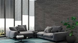 vinyltapete new walls loft living livingwalls steinwand schwarz grau 223