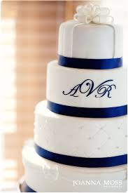 Beautiful White And Blue Wedding Cakes Styles Ideas