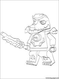 Lego Chima Cragger Coloring Page