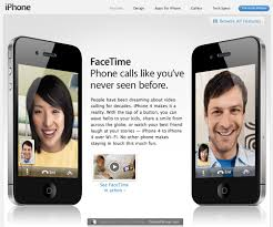 Apple iPhone 4 FaceTime Video Chat Open Standard