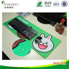 tapis de bureau personnalisé personnalisé imprimé bureau étanche clavier souris tapis anti