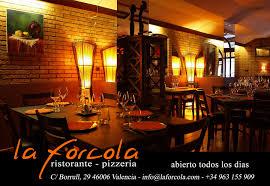 la forcola ristorante pizzeria a valencia vlc