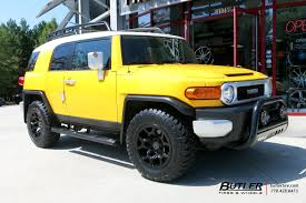 Toyota FJ Cruiser With 18in Black Rhino Overland Wheels Exclusively ...