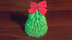 Best Live Christmas Trees To Buy by 3d Origami Christmas Tree Tutorial Youtube