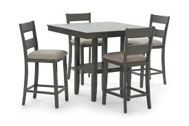 Loft Counter Table With 4 Counter Stools Kitchen Design Table Set High Top Ding Room Five Piece Bar Height Ideas Mix Match 9 Counter 26 Sets Big And Small With Bench Seating 2018 Progressive Fniture Willow Rectangular Tucker Valebeck Brown Top Beautiful Cool Merlot Marble Palate White 58 A America Bri British Have To Have It Jofran Bakers Cherry Dion 5pc