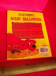 Cliffords Halloween Norman Bridwell by Holiday Fun Book Scholastic Big Red Dog Scary Halloween 3 D Glasses
