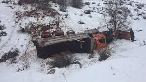 100 How To Plow Snow With A Truck Runs Off Road In Utah