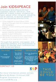 Kids4Peace Cincinnati Growing And Expanding Offerings