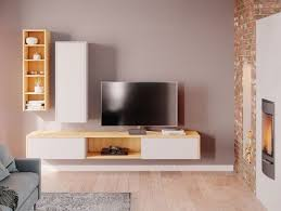 so sieht eine moderne wohnwand im wohnzimmer aus