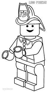 28 Lego Coloring Pages Printable Police Officer City