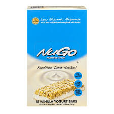 NuGo Nutrition To Go Vanilla Yogurt Bars